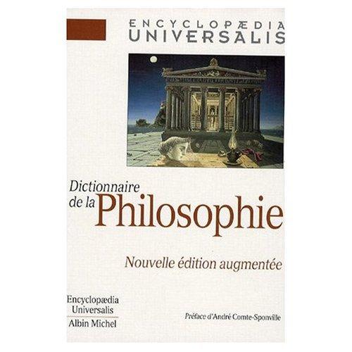 9780785994916: Dictionnaire de la Philosophie (French Edition)