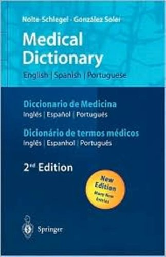 9780785996446: Medical Dictionary: English - Spanish - Portuguese / Espanol - Ingles - Portugues / Portugues - Ingles - Espanhol (English and Spanish Edition)