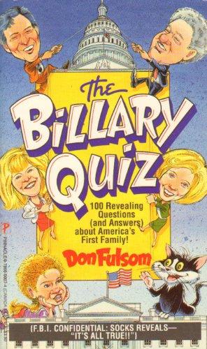9780786000074: The Billary Quiz