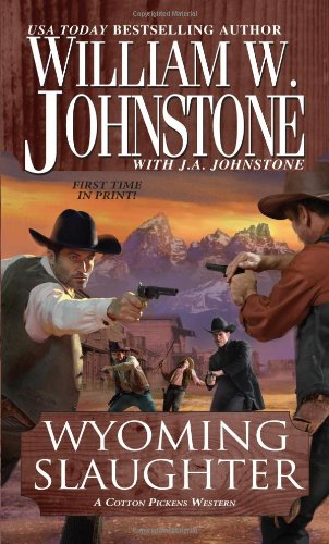 9780786028054: Wyoming Slaughter: A Cotton Pickens Western