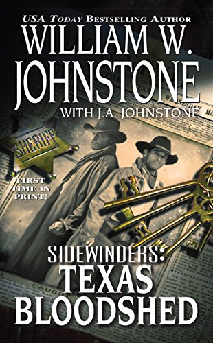 9780786028061: Texas Bloodshed (Sidewinders)