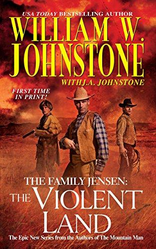 9780786028115: The Family Jensen: Violent Land (Family Jensen 3)