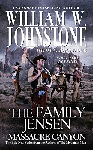 9780786033485: Massacre Canyon (Family Jensen)