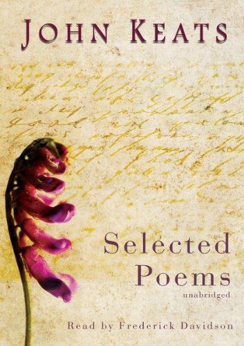 9780786103676: John Keats: Selected Poems
