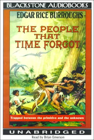 The People That Time Forgot (The Caspak Trilogy, Book 2)(Library Edition) (0786115645) by Edgar Rice Burroughs