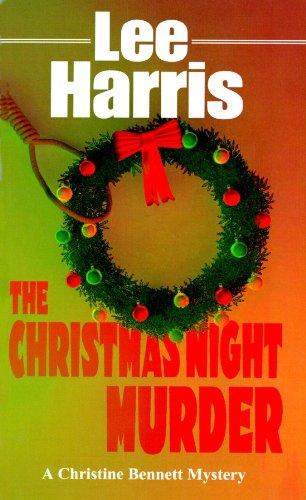 9780786116720: The Christmas Night Murder: Library Edition (Christine Bennett Mysteries)