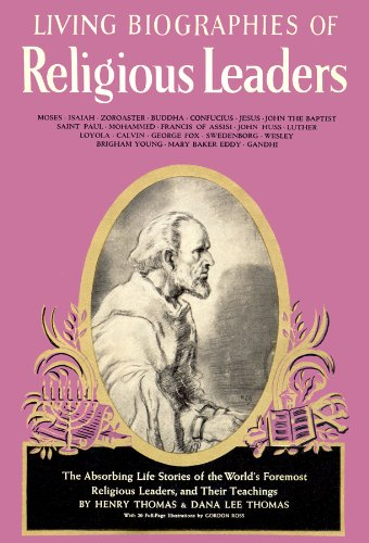 Living Biographies of Religious Leaders (audiocassette): Thomas, Henry and Dana Lee