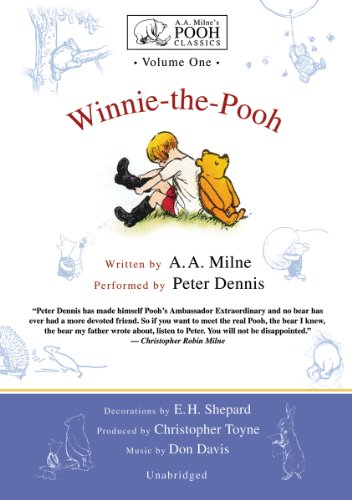 9780786129089: Winnie-the-Pooh (A.A. Milne's Pooh Classics, Volume 1)(Library Edition)
