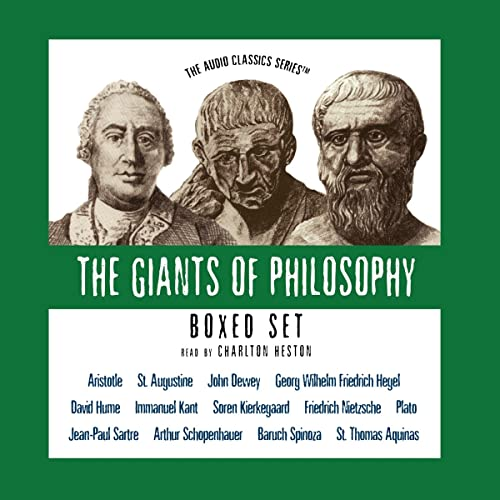 9780786158935: The Giants of Philosophy Series (Boxed Set) (Audio Classics)