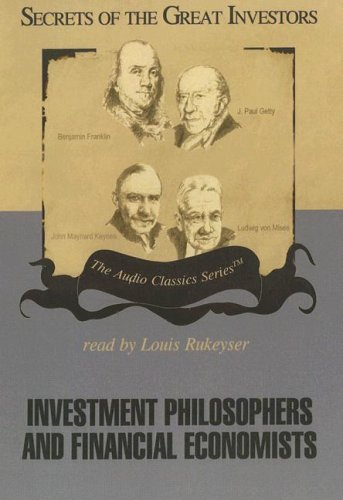 9780786164882: Investment Philosophers and Financial Economists (Secrets of the Great Investors)
