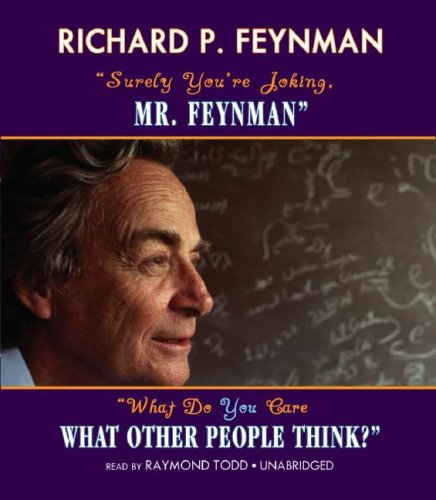 ''Surely You're Joking, Mr. Feynman'' -and- ''What Do You Care What Other People Think?'' (BOXED SET) (0786167998) by Ralph Leighton