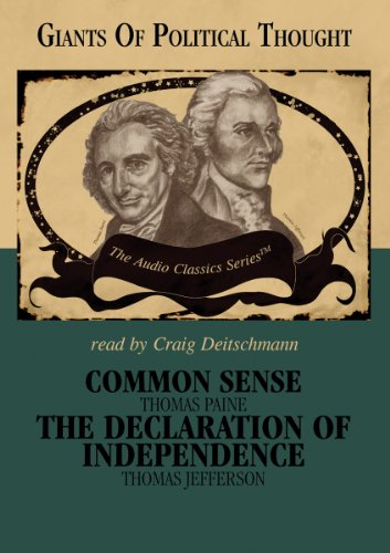 9780786169887: Common Sense and the Declaration of Independence