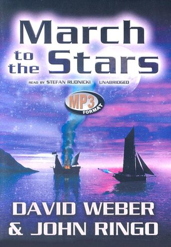 9780786172603: March to the Stars: Library Edition (March Upcountry (Audio))