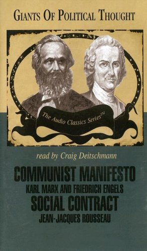 9780786173273: Communist Manifesto and Social Contract (Giants of Political Thought)