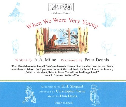 9780786181964: When We Were Very Young (Winnie-the-Pooh) (A. A. Milne's Pooh Classics)