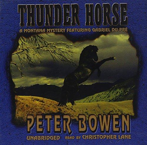 9780786186778: Thunder Horse: Library Edition (Gabriel Du Pre Mystery)