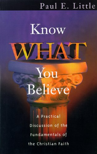 9780786196098: Know What You Believe: Library Edition