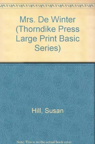 9780786200511: Mrs. De Winter (Thorndike Press Large Print Basic Series)