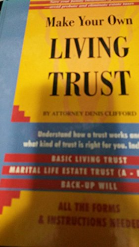 9780786201365: Make Your Own Living Trust