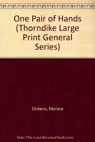 9780786202492: One Pair of Hands (Thorndike Large Print General Series)