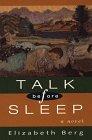 9780786203338: Talk Before Sleep (Thorndike Press Large Print Basic Series)