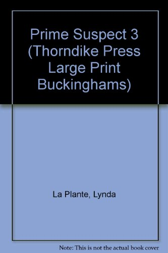 9780786204717: Prime Suspect 3 (Thorndike Press Large Print Buckinghams)