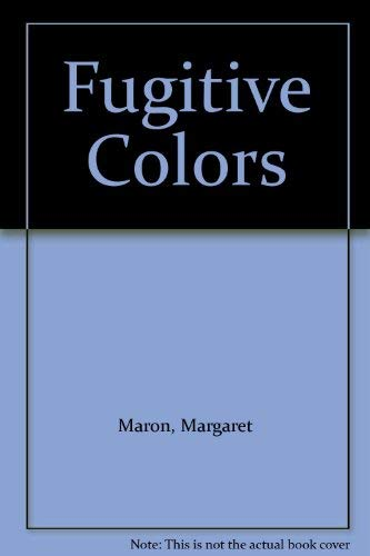 9780786205233: Fugitive Colors (Thorndike Large Print Cloak & Dagger Series)