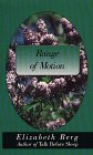 9780786206131: Range of Motion (Thorndike Press Large Print Americana Series)