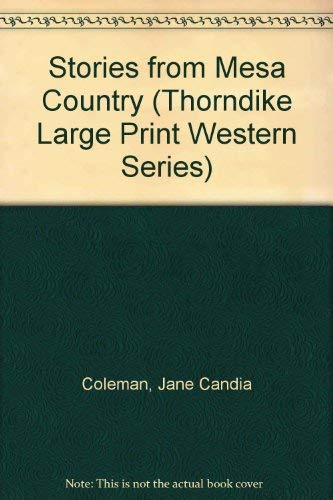 9780786207107: Stories from Mesa Country (Thorndike Large Print Western Series)