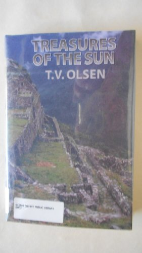 Treasures of the Sun CL (Five Star First Edition Western): Olsen, T. V., Olsen