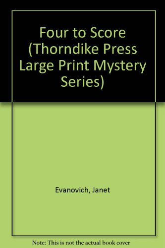 9780786215294: Four to Score (Thorndike Press Large Print Mystery Series)