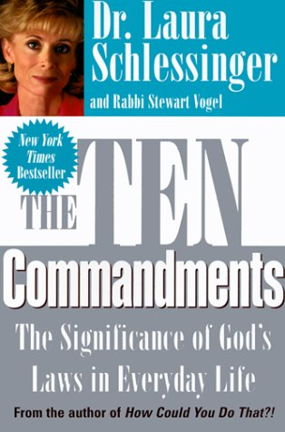 9780786217939: The Ten Commandments: The Significance of God's Laws in Everyday Life (Thorndike Press Large Print Americana Series)
