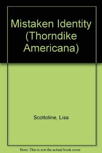 9780786219759: Mistaken Identity (Thorndike Americana)