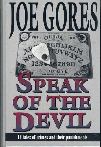 9780786220359: Speak of the Devil: 14 Tales of Crimes and Their Punishments (Five Star First Edition Mystery)