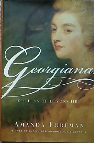 9780786226542: Georgiana: Duchess of Devonshire