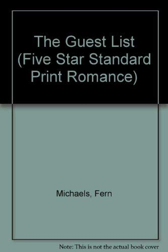 9780786229857: The Guest List (Five Star Standard Print Romance)