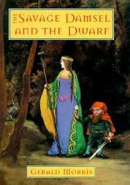 9780786230372: The Savage Damsel and the Dwarf (Thorndike Press Large Print Young Adult Series)
