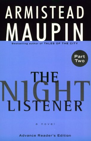 9780786231812: The Night Listener (Thorndike Press Large Print Americana Series)