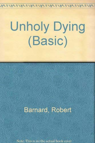 9780786233335: Unholy Dying (Basic)