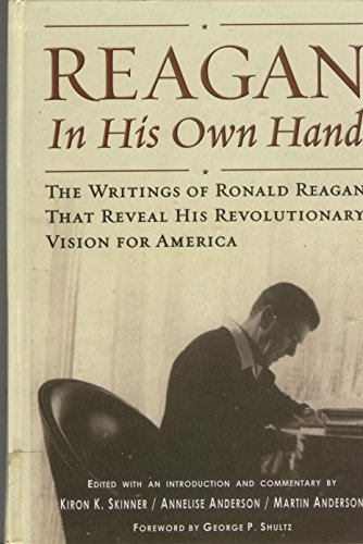 9780786234295: Reagan in His Own Hand (Thorndike Americana)