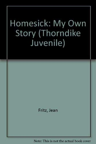 9780786236039 Homesick My Own Story Thorndike Juvenile