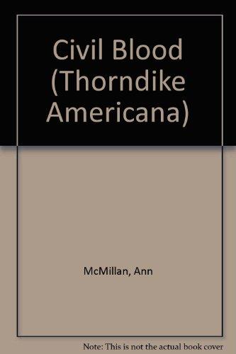 9780786236145: Civil Blood (Thorndike Americana)