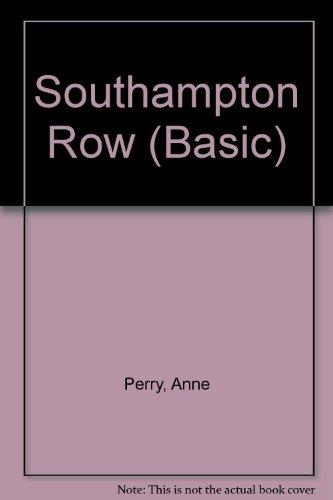 9780786240661: Southampton Row
