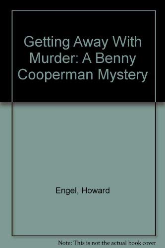 9780786243006: Getting Away With Murder: A Benny Cooperman Mystery