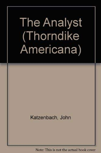 9780786243396: The Analyst (Thorndike Press Large Print Americana Series)