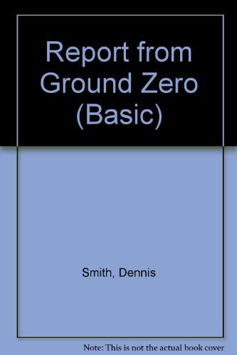 9780786244492: Report from Ground Zero (Thorndike Press Large Print Basic Series)