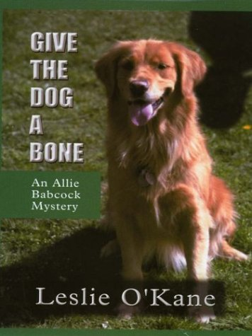 9780786247226: Give the Dog a Bone (Thorndike Press Large Print Mystery Series)