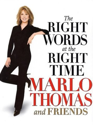 9780786247356: The Right Words at the Right Time (Thorndike Press Large Print Core Series)