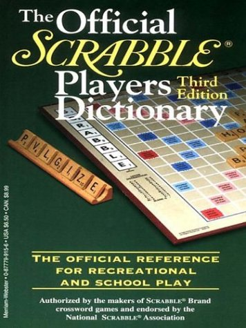 9780786247738: The Official Scrabble Players Dictionary Large Print Edition