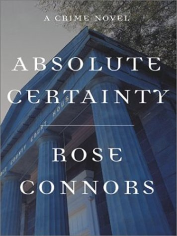 9780786247912: Absolute Certainty: A Crime Novel